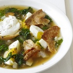 Пряный суп с мангольдом