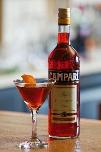 Алкоголь: как правильно пить Кампари - tochka net