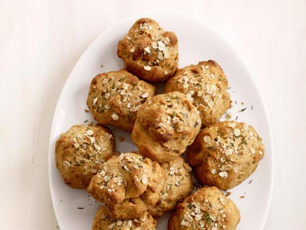 Овсяное печенье с тимьяном
