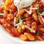 Кавателли с томатным соусом и рикоттой