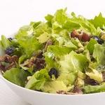 Салат из цикория с беконом
