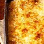 Запеченный картофель с сыром и сливками