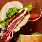 Итальянский праздничный сэндвич
