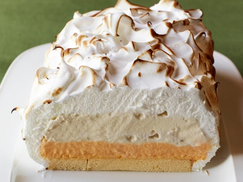 торт бисквит с мороженым рецепт