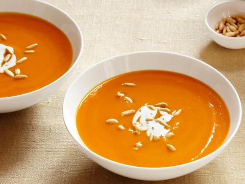 Фото Морковный суп-пюре с имбирем