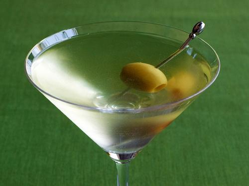 Коктейль «Грязный мартини»