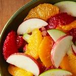Яблочно - апельсиновый салат
