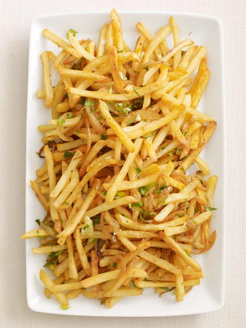 Острый картофель-фри