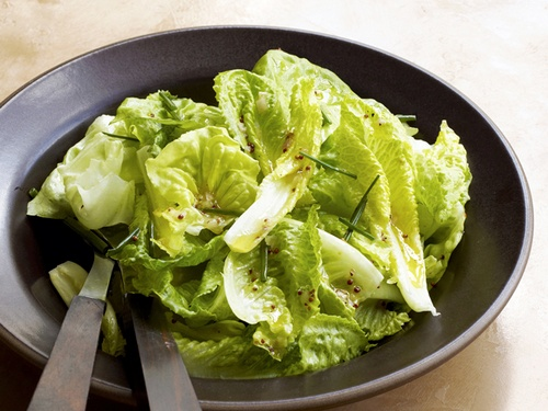 Фото Простой зеленый салат