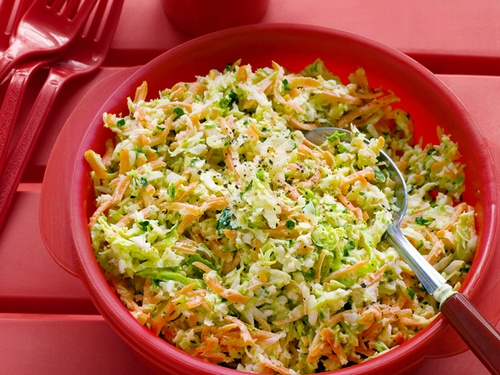 салат из капусты с и морковью и луком