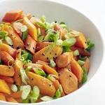 Морковь тушеная в мандариновом сиропе