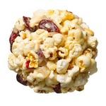Имбирно-клюквенные шарики из попкорна