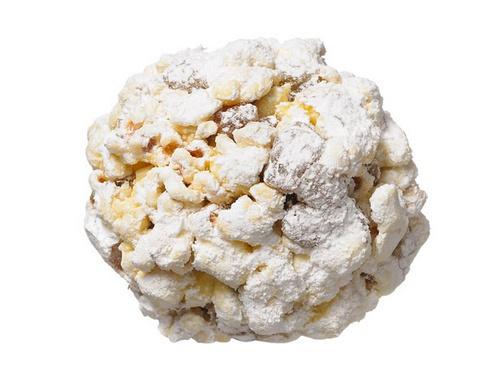 Фото Ромовые шарики из попкорна с изюмом