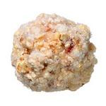 Сливовые шарики из попкорна с сахарной посыпкой