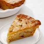 Картофельный пирог с беконом