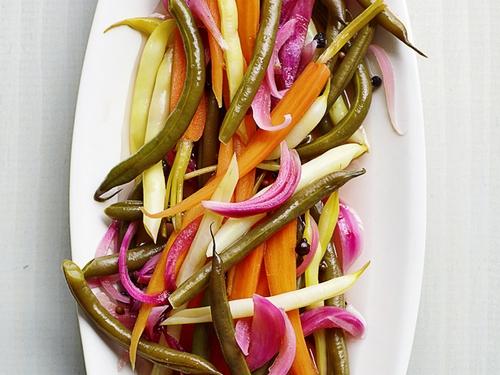 Фото Маринованные овощи