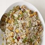 Рис с гриль-нектаринами