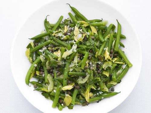Сельдерей фасоль салаты