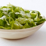 Кефирная заправка с салатом-латуком