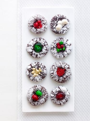 Фото Шоколадные печенья «Отпечаток пальца»