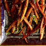 Запеченная морковь по-арабски