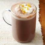 Какао с кардамоном и сливками