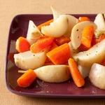 Глазированная морковь и репа