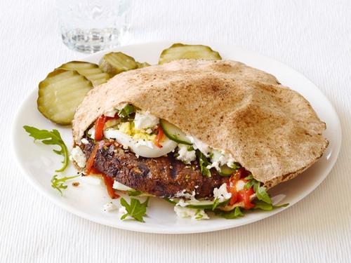 Вегетерианские бургеры по-арабски