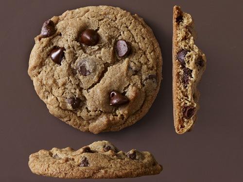 Тягучее печенье с шоколадом