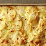 Картофельный гратэн с четырьмя сырами