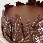 Шоколадный торт с кремом ганаш