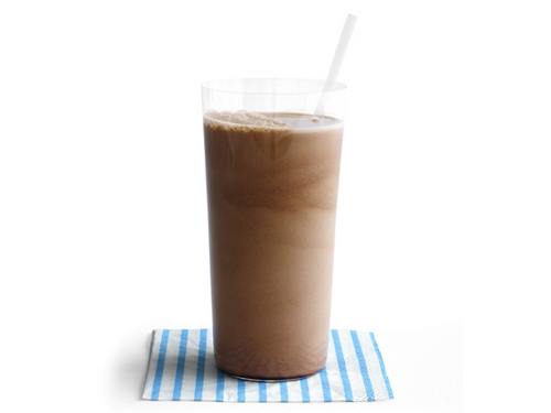 Шоколадное молоко с солью