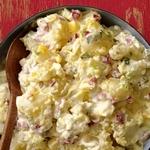 Классический картофельный салат с сельдереем
