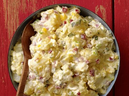 Фото Классический картофельный салат с сельдереем
