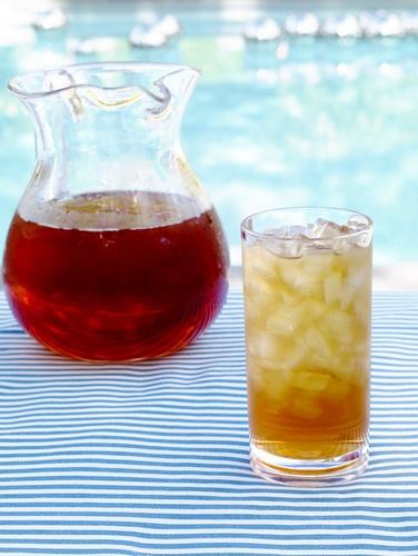 Мятный чай со льдом