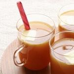 Горячий яблочно-коричный напиток со сливочным маслом