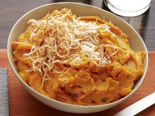 Фото Картофельное пюре из батата по-индийски