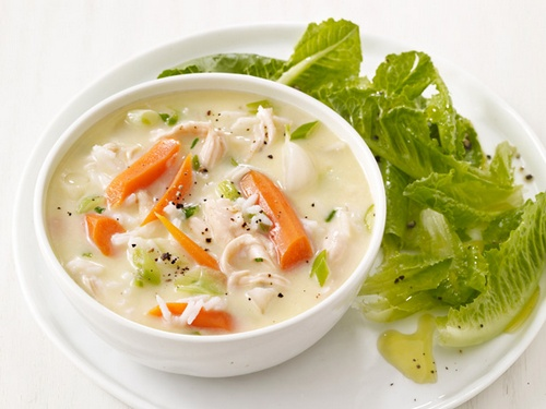 рецепт ячного супа