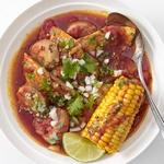 Тушеная рыба по-мексикански