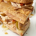 Французские сэндвичи с индейкой