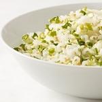 Рис с кунжутом и зеленым луком