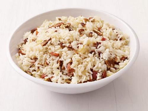 Рис с орехами пекан