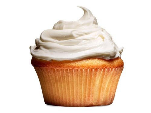 Фото Белая крем-глазурь для торта