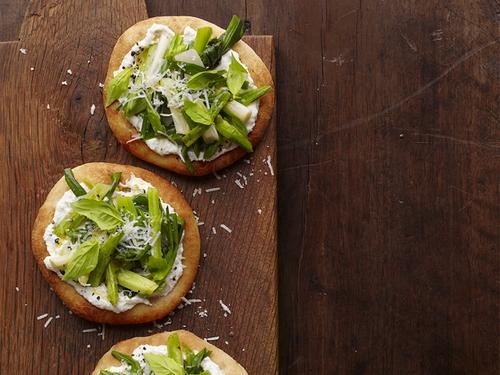 Весенние мини-пиццы