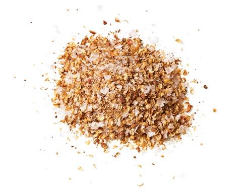 Фото Морская соль с перцем и кориандром
