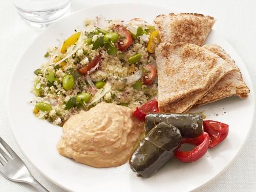 Ближневосточная закуска «Греческое мезе»
