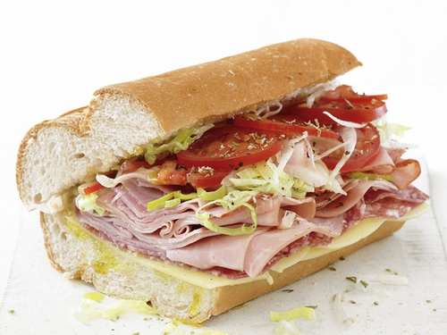 Фото Итальянский сэндвич