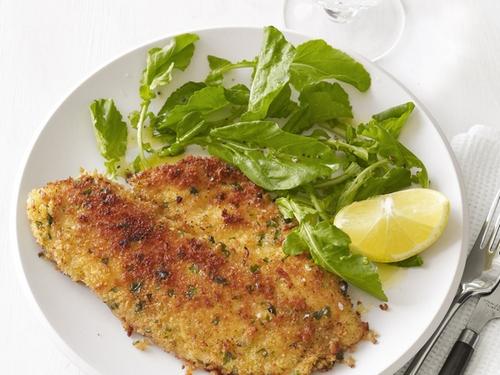 Жареная рыба по-милански