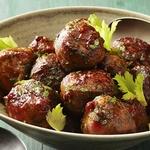 Польпетте из сельдерея в томатном соусе