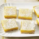 Пирожные «Лимонная плитка»